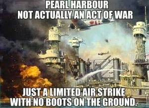 The Limited Air Strike
