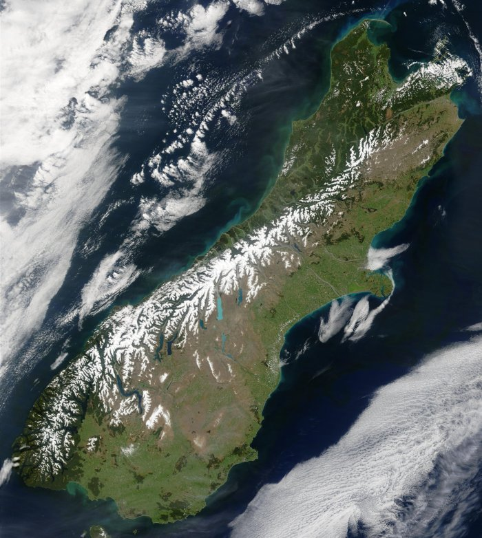 Southern Alps - image courtesy of Wikipedia